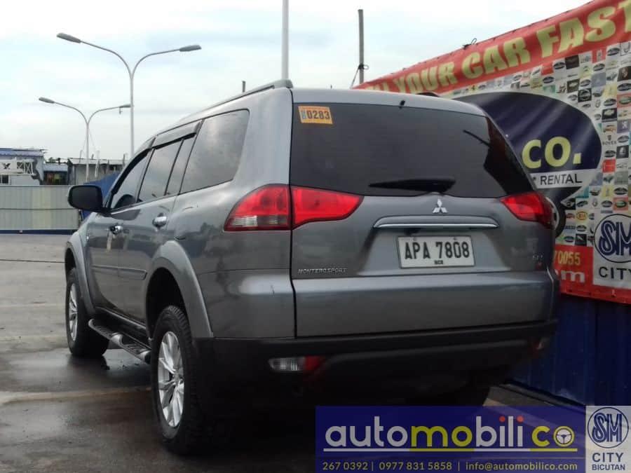 2014 Mitsubishi Montero Sport - Rear View