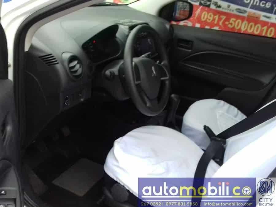 2016 Mitsubishi Mirage - Interior Rear View