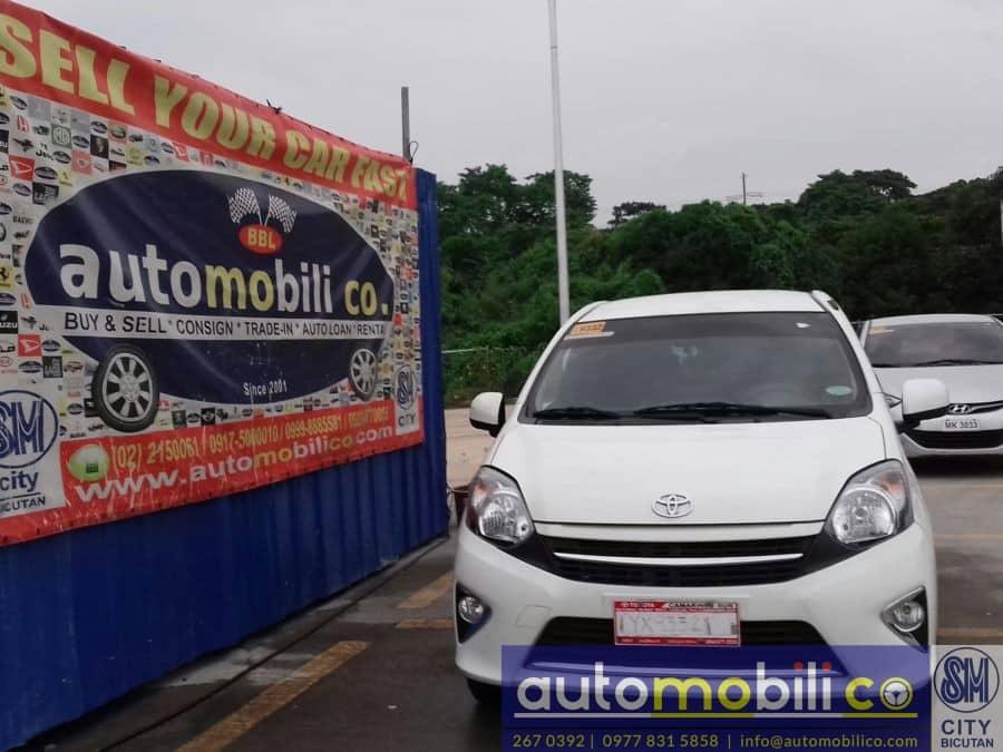 2016 Toyota Wigo - Front View