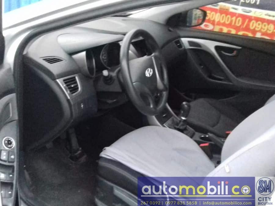 2013 Hyundai Elantra - Interior Rear View