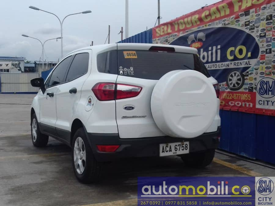 2014 Ford EcoSport - Rear View