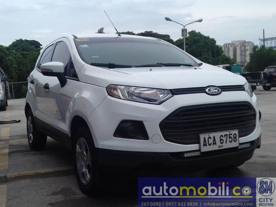 2014 Ford EcoSport - Left View
