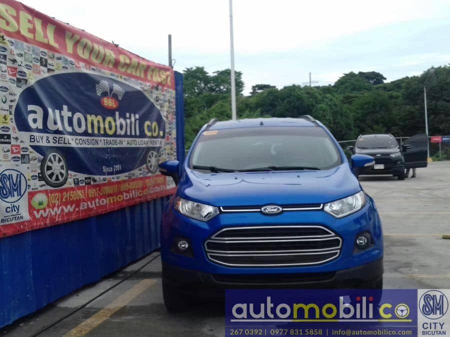 2016 Ford EcoSport - Front View