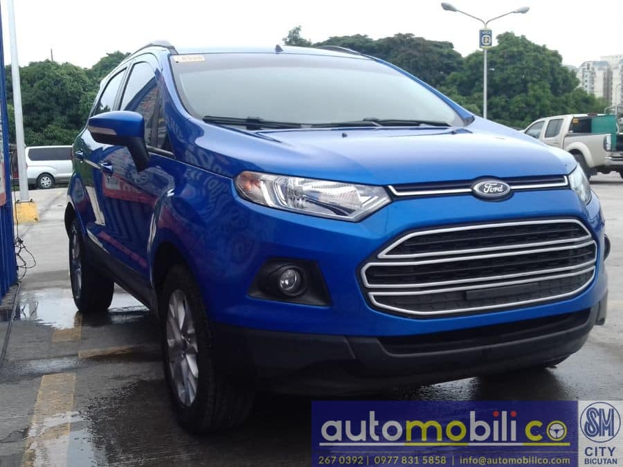 2016 Ford EcoSport - Left View