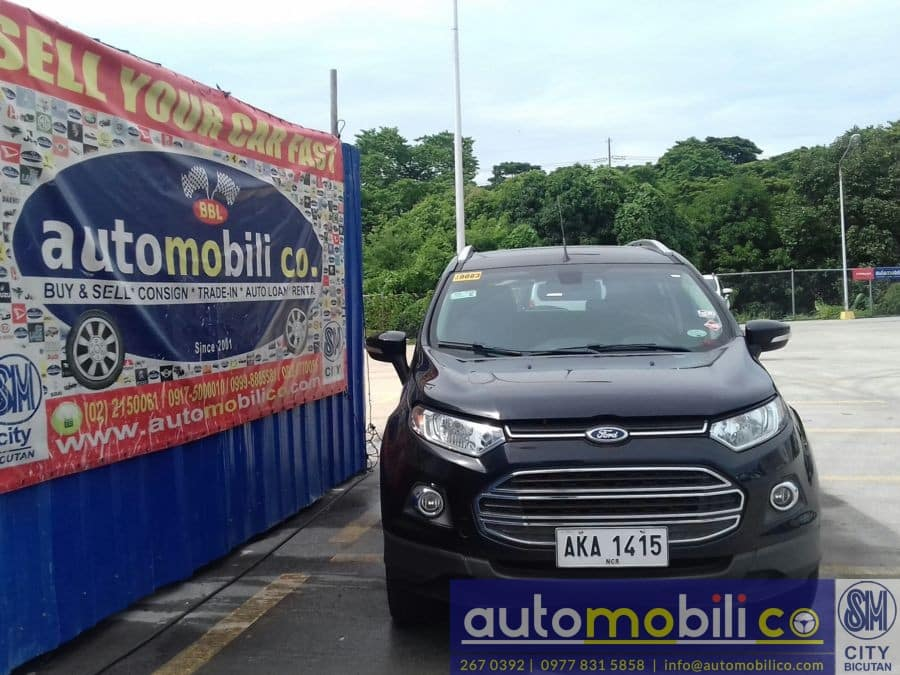 2015 Ford EcoSport - Front View
