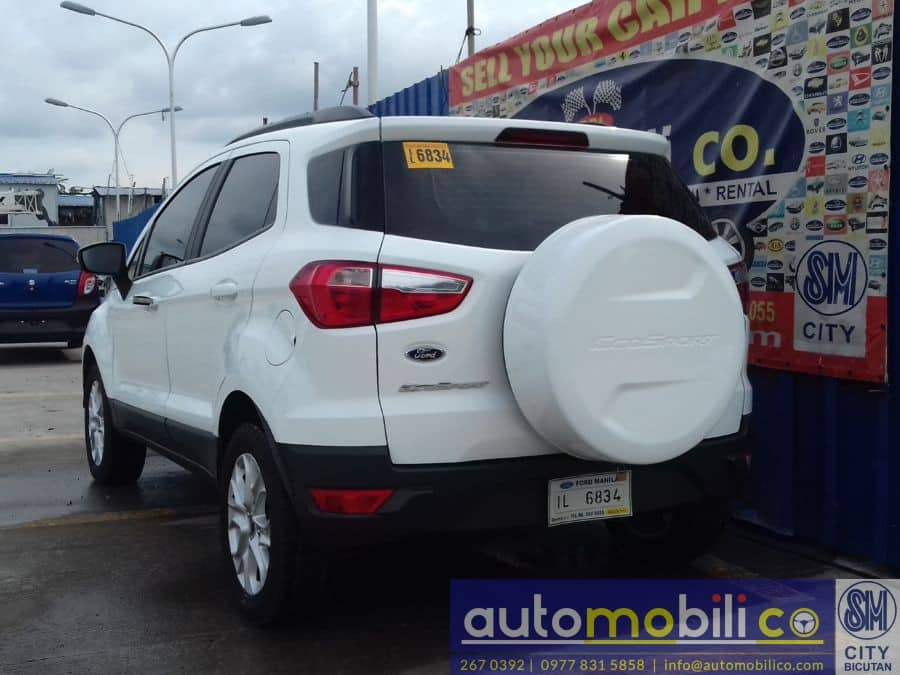 2016 Ford EcoSport - Rear View