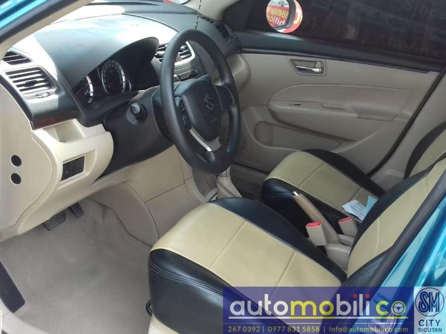 2014 Suzuki Swift Dzire - Interior Rear View