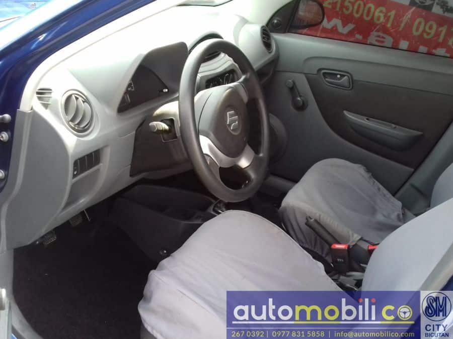 2016 Suzuki Alto - Interior Rear View