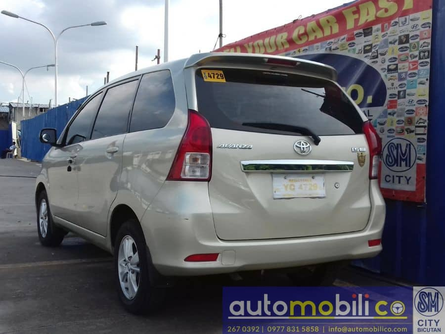 2015 Toyota Avanza - Rear View