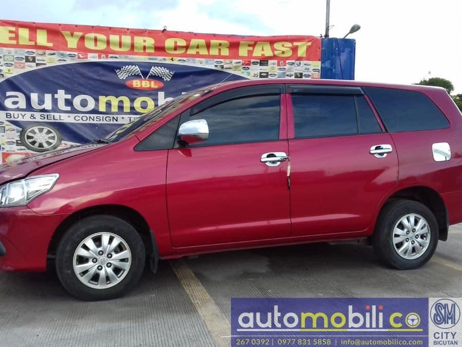 2014 Toyota Innova E - Left View