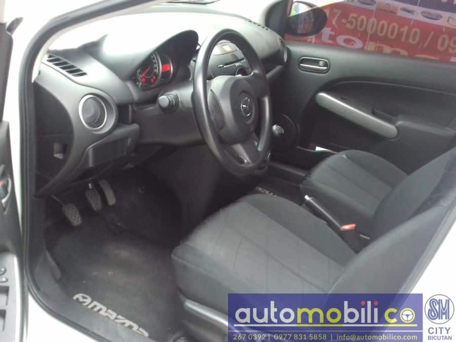2014 Mazda 2 - Interior Rear View
