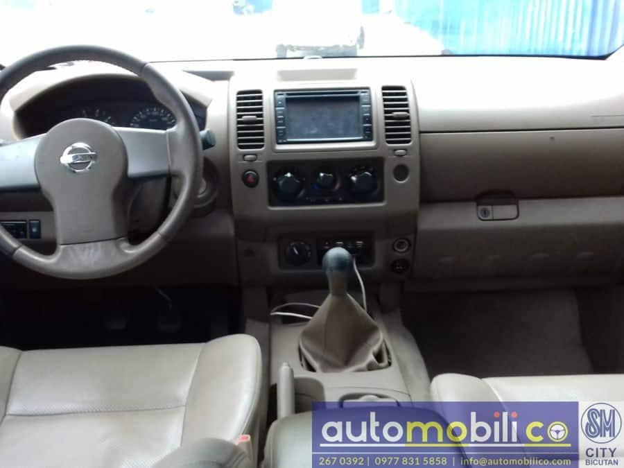 2013 Nissan Frontier Navara - Interior Rear View