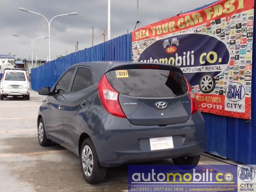 2016 Hyundai Eon - Rear View