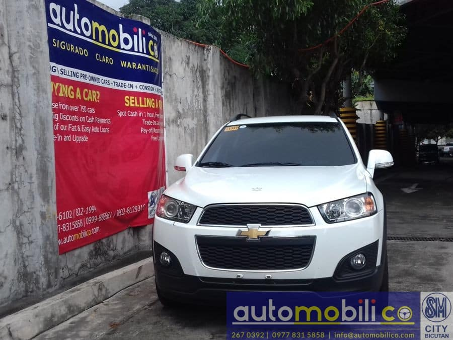 2016 Chevrolet Captiva - Front View