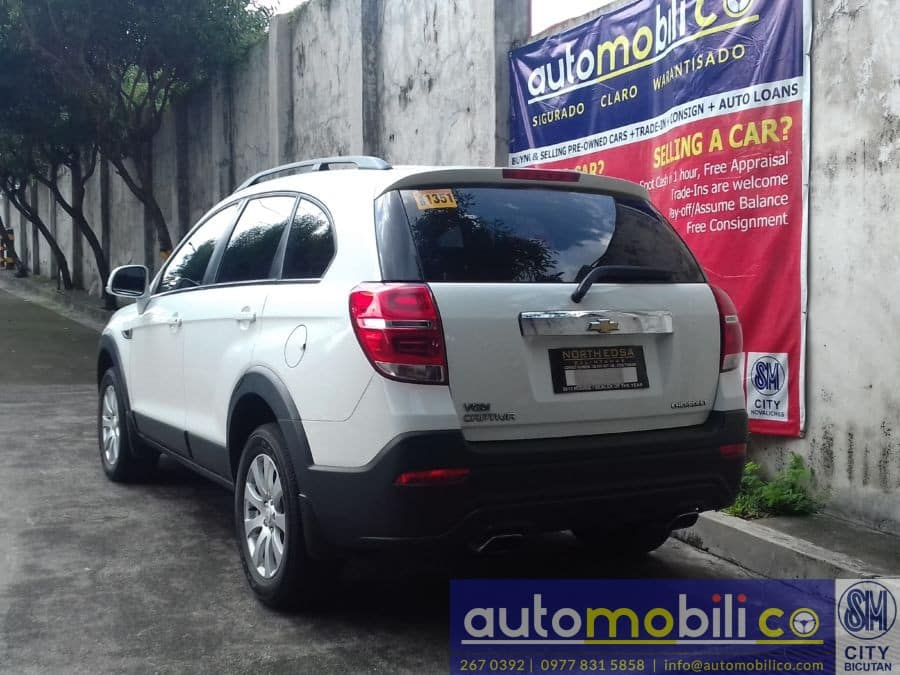 2016 Chevrolet Captiva - Rear View