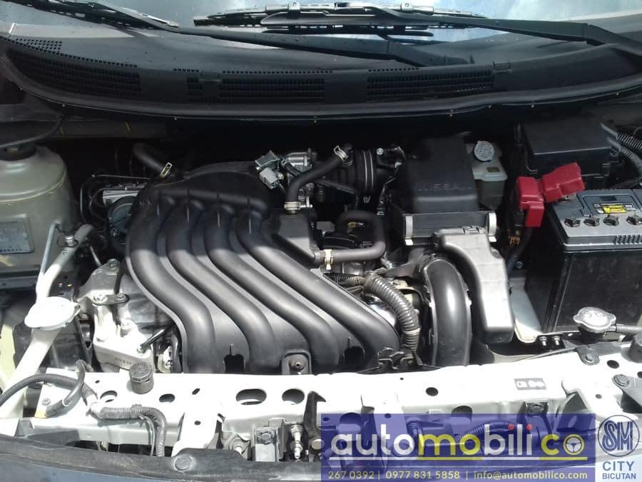2016 Nissan Almera - Interior Rear View