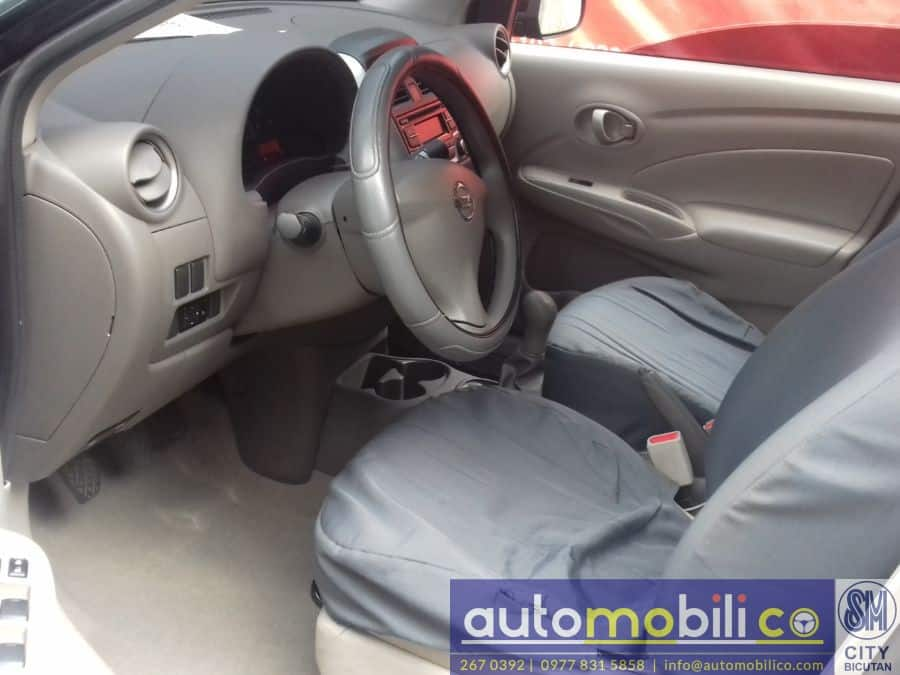 2016 Nissan Almera - Interior Rear View