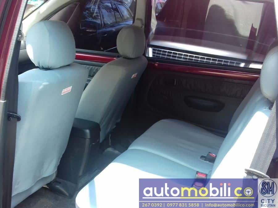 2008 Toyota Avanza - Interior Rear View