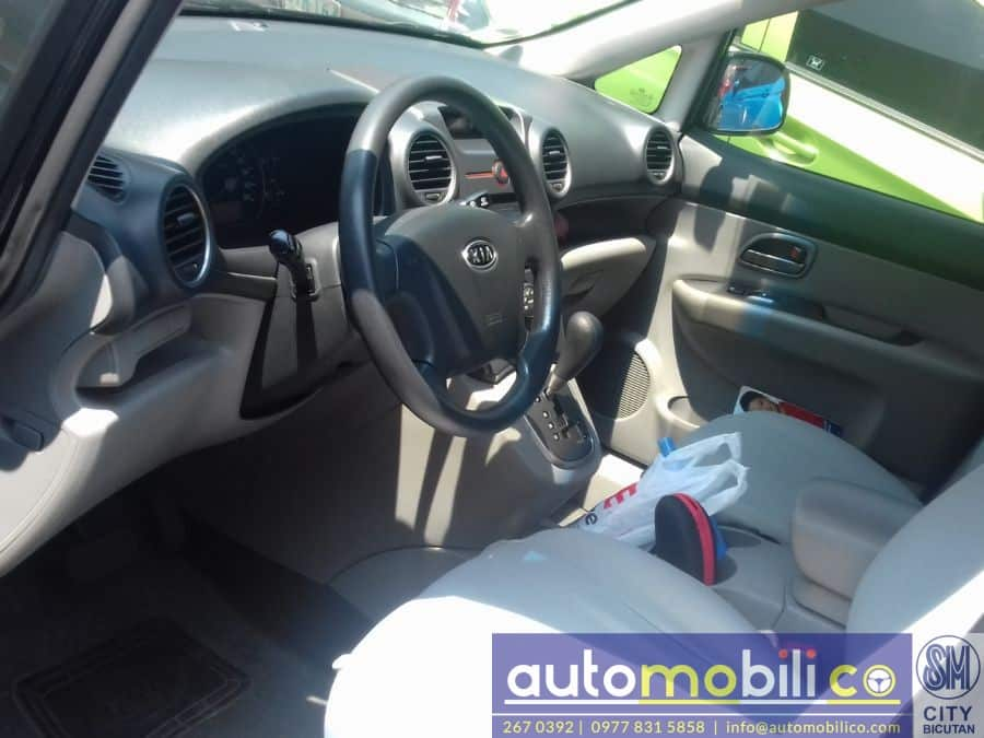 2010 Kia Carens - Interior Rear View