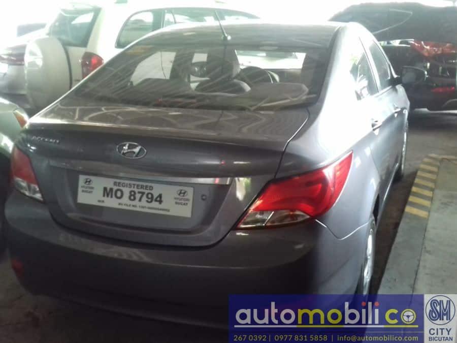 2016 Hyundai Accent - Left View