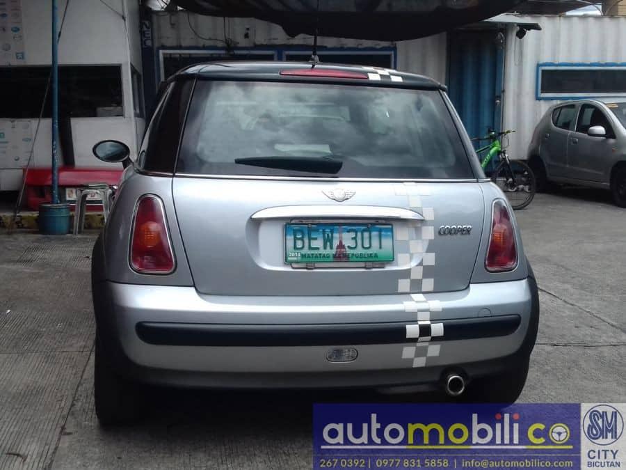 2002 Mini Cooper - Rear View