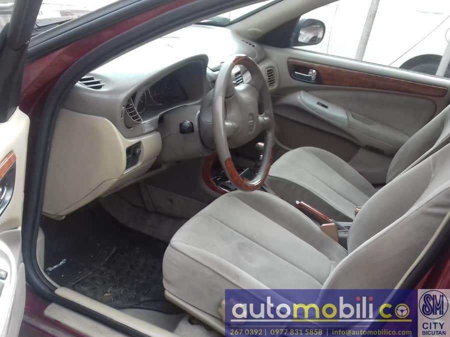 2003 Nissan Exalta - Interior Front View
