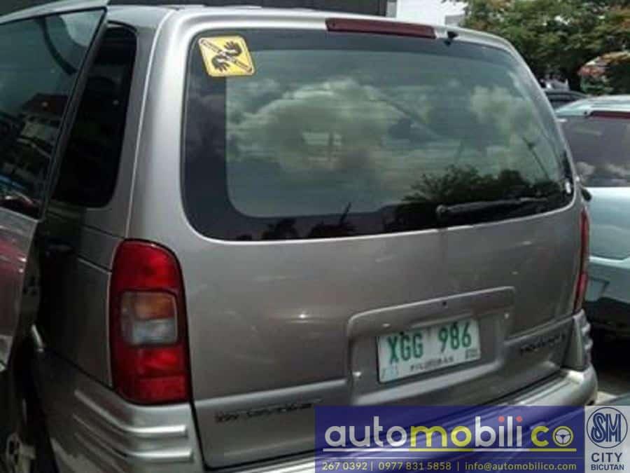 2003 Chevrolet Venture - Rear View
