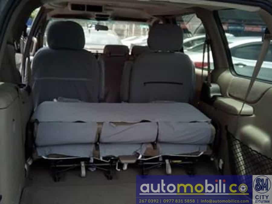 2003 Chevrolet Venture - Interior Rear View