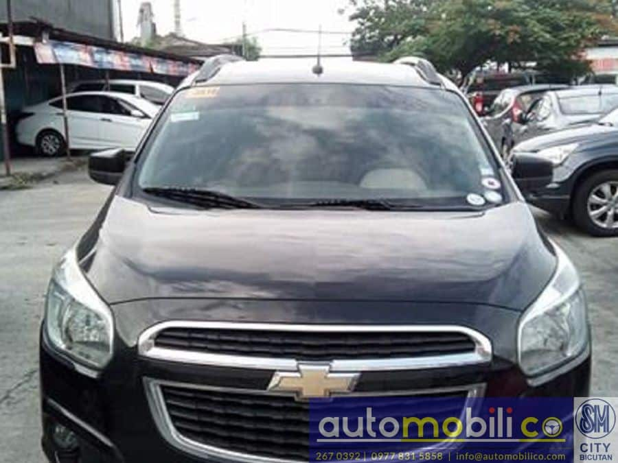2015 Chevrolet Spin - Front View