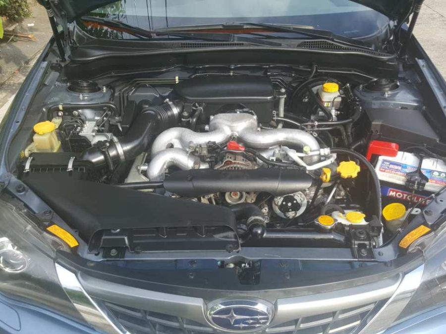 2008 Subaru Impreza - Interior Rear View