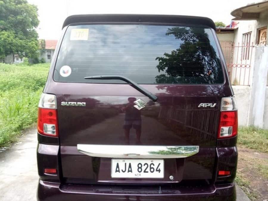 2015 Suzuki APV - Rear View