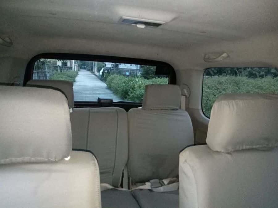 2015 Suzuki APV - Interior Rear View
