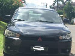 2010 Mitsubishi Lancer Ex - Front View