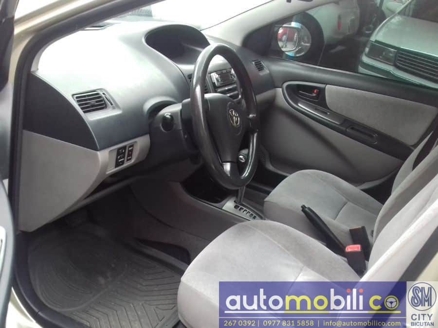 2003 Toyota Vios - Interior Front View