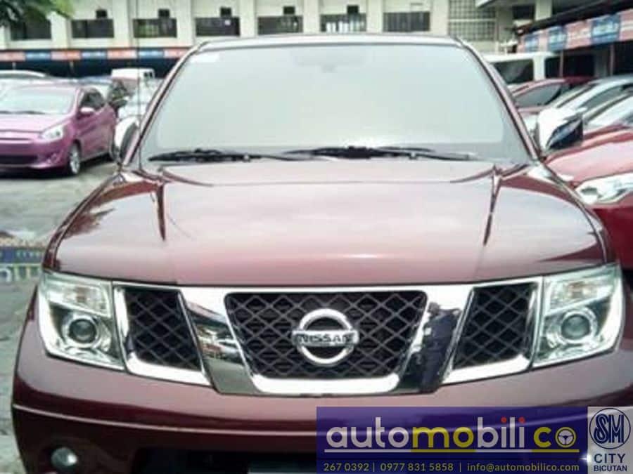 2013 Nissan Frontier Navara - Front View