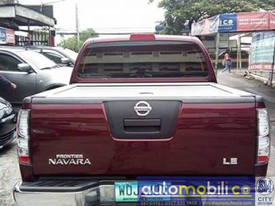 2013 Nissan Frontier Navara - Rear View