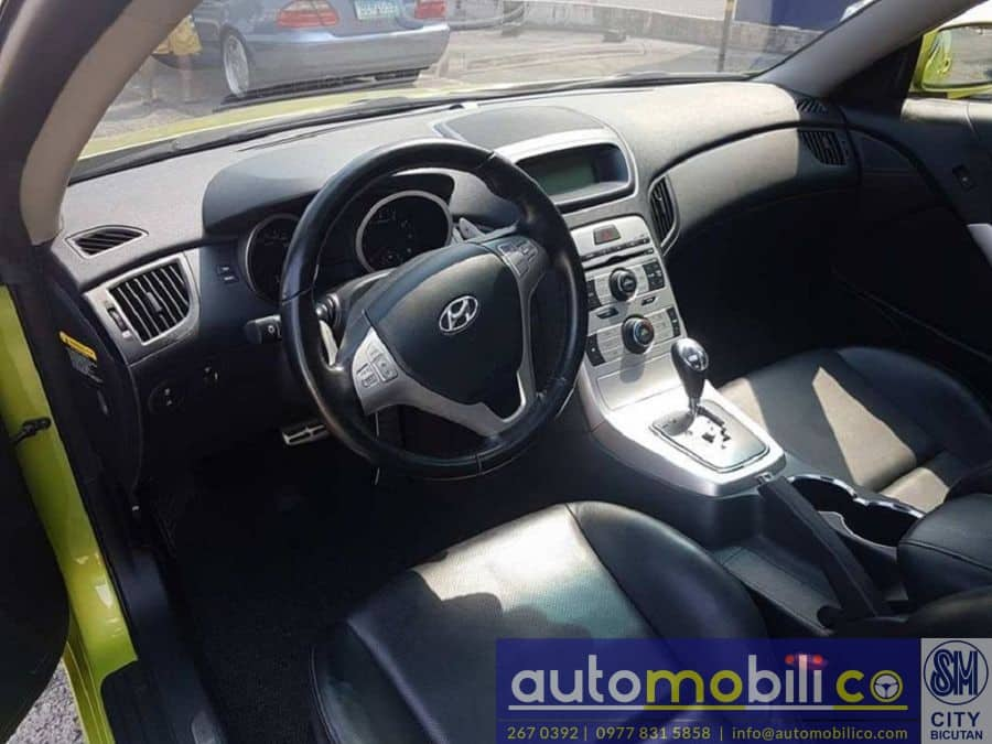 2009 Hyundai Genesis Coupe - Interior Front View