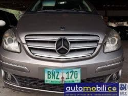 2008 Mercedes-Benz B170 - Front View