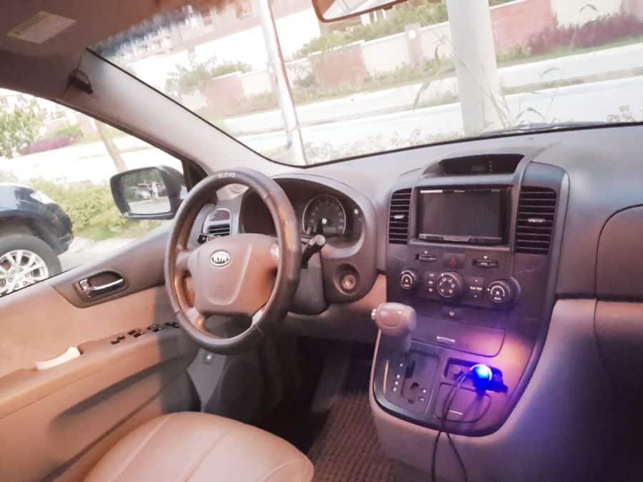 2008 Kia Carnival - Interior Front View