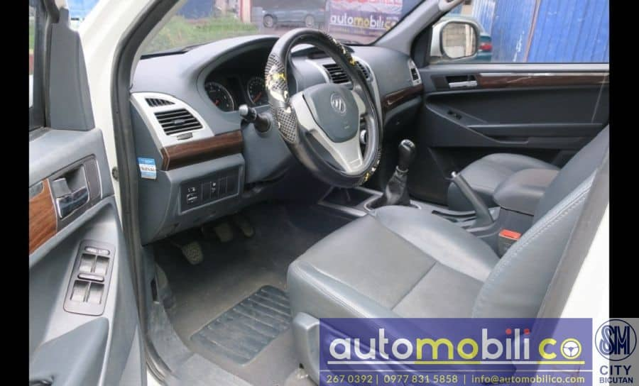 2014 Foton Thunder - Interior Front View