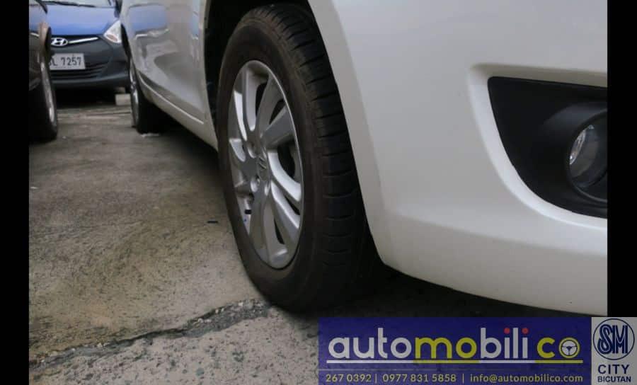 2015 Suzuki Swift - Interior Rear View