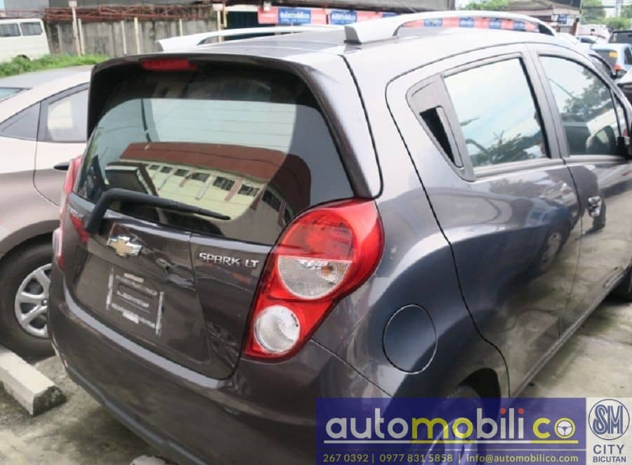 2014 Chevrolet Spark - Rear View