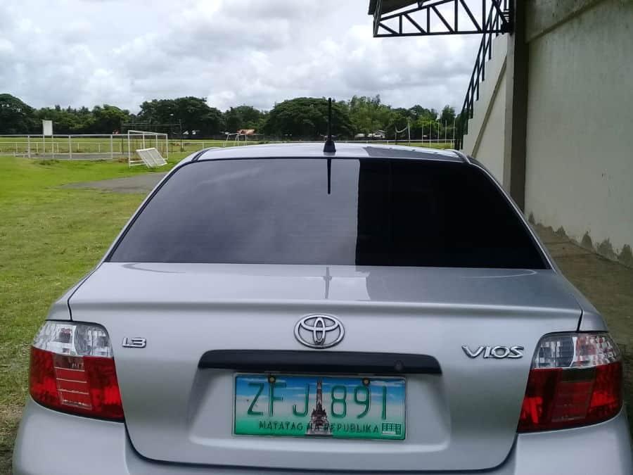 2006 Toyota Vios - Rear View