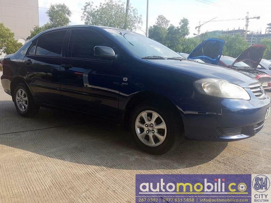 2003 Toyota Corolla Altis J - Left View