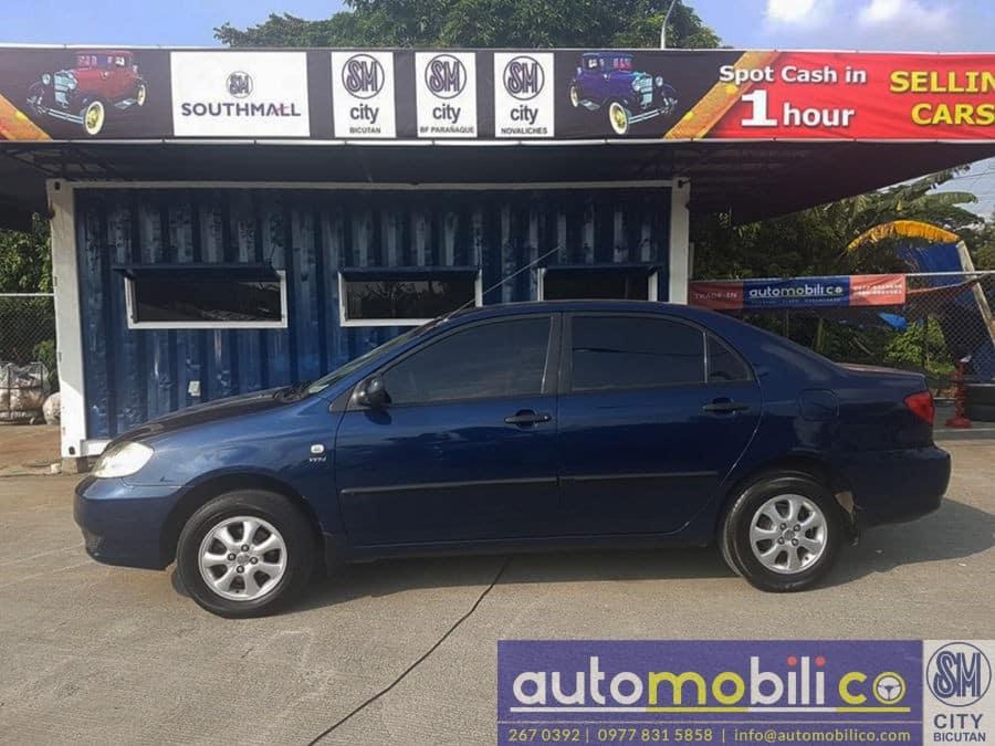 2003 Toyota Corolla Altis J - Right View