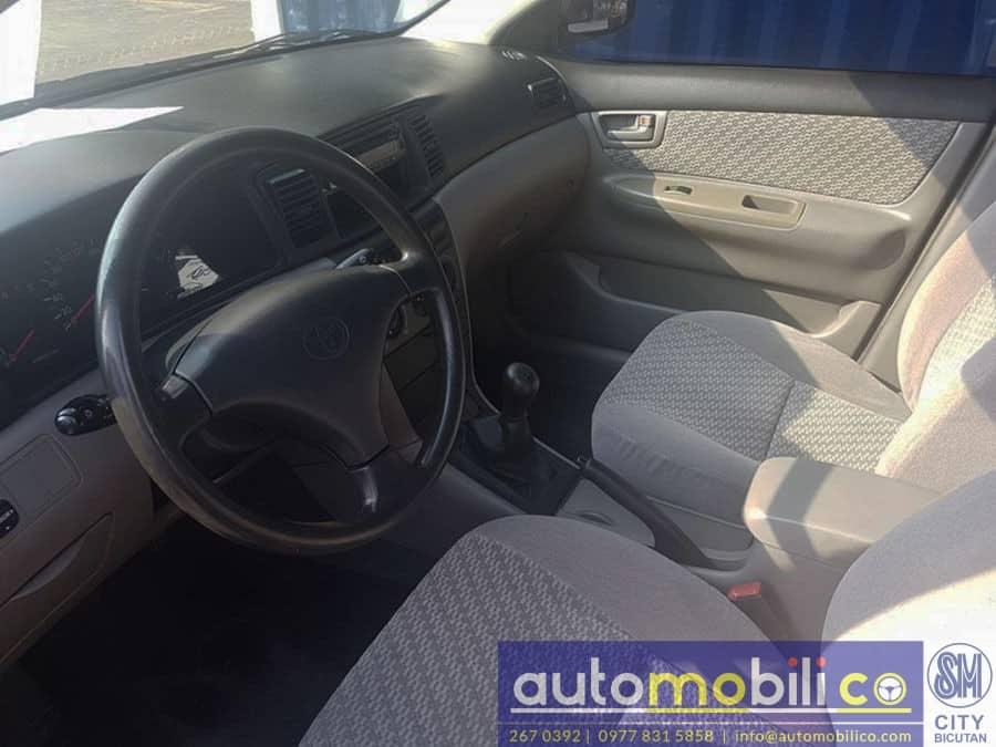 2003 Toyota Corolla Altis J - Interior Front View