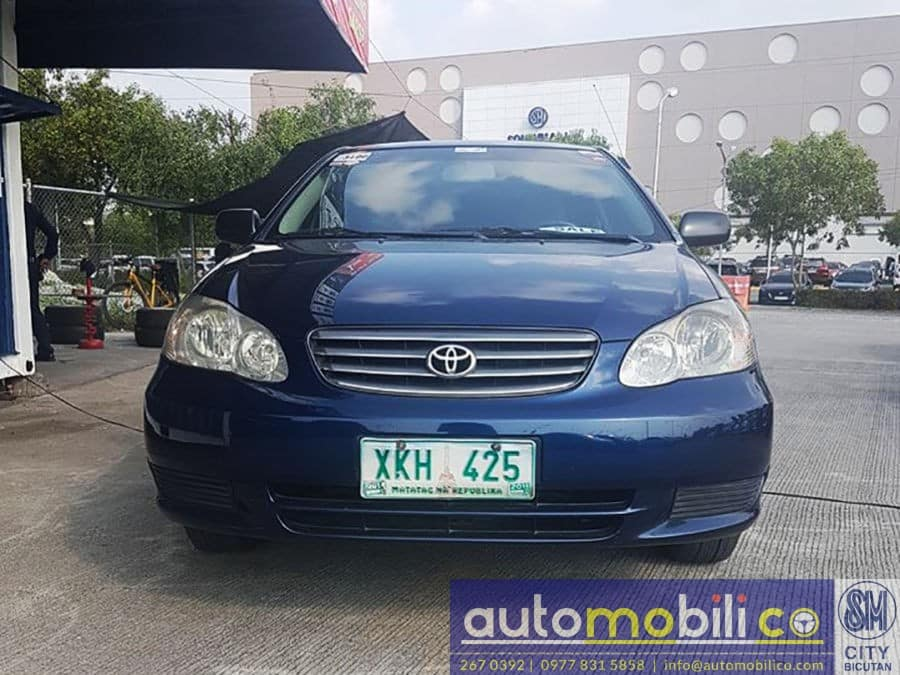 2003 Toyota Corolla Altis J - Front View