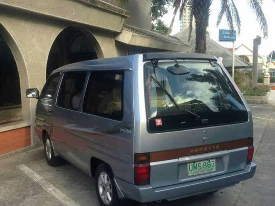 1997 Nissan Vanette - Rear View