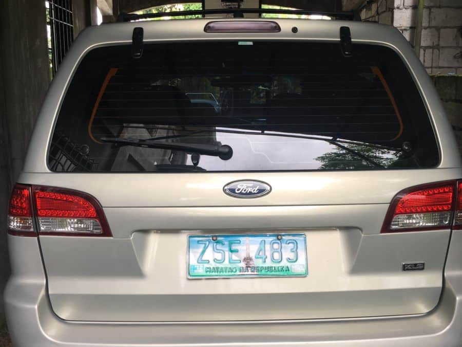 2008 Ford Escape - Rear View