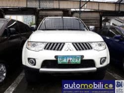 2012 Mitsubishi Montero Sport - Front View